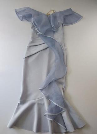 Шикарное платье lipsy миди 38 сиреневое (lsy00011)