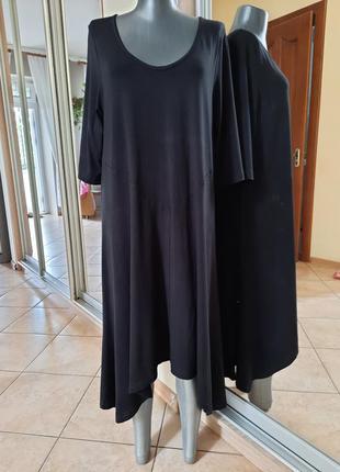 Стильное асимметричное платье 👗большого размера