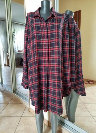 Стильное платье 👗, удлинённая рубашка 👕,туника большого размера
