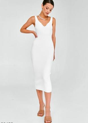 Трикотажне силуетне плаття