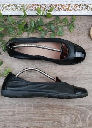 🌿39🌿европа🇪🇺 5th avenue. кожа. фирменные качественные туфли, мягенькие балетки