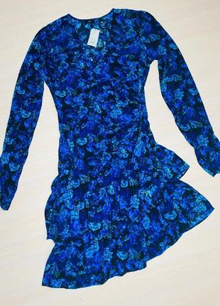 Платье вискоза  с рукавчиком