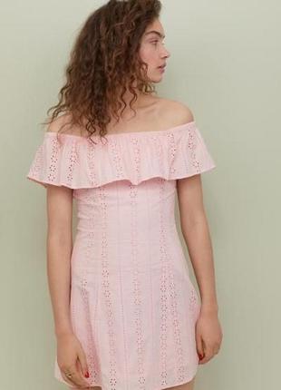 Новое платье h&m, прошва