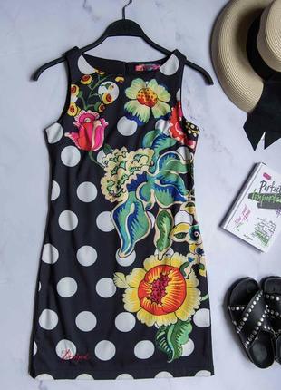 Платье desigual, платье с принтом