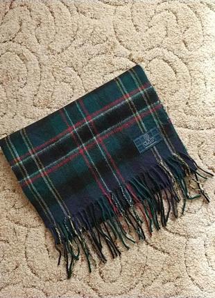 Шерстяной шарф clans scotland