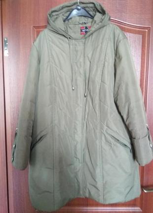 Куртка. змняя, xxxl теплая