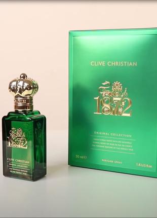 Clive christian 1872 women оригинал_perfumе 5 мл затест распив отливанты