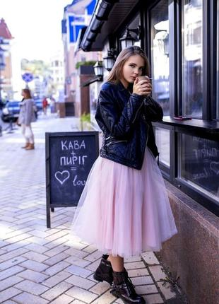 Фатиновая воздушная юбка зефирка🌸