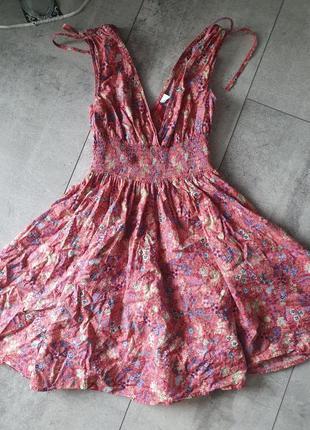 Плаття хлопок платье квіти