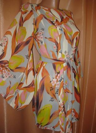 Шикарная туника платье пляжное, apricot, км0974