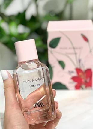 Жіночі парфуми nude summer bouquet від zara (іспанія)