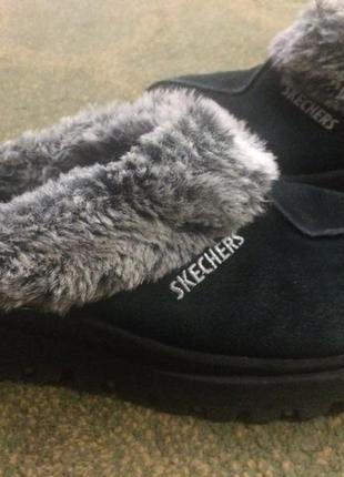 Слипоны кроссовки кеды ботинки тапочки замшевые skechers