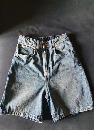 Круті джинсові шорти h&m