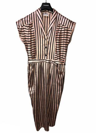 Винтаж , шелковое платье , англия