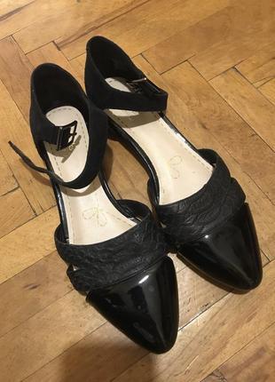 Туфли-балетки из натуральной кожи