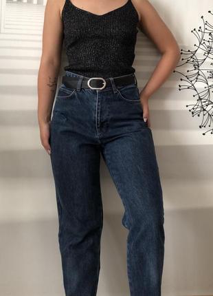 Темно-синие джинсы rezerved