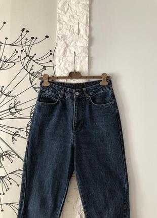Темно-синие джинсы rezerved4 фото