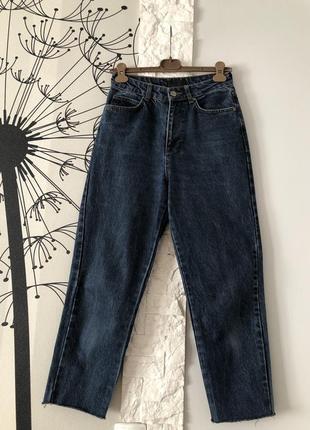 Темно-синие джинсы rezerved7 фото