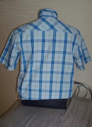 🍀🍀lee cooper оригинал летняя мужская рубашка короткий рукав м🍀🍀🍀4 фото