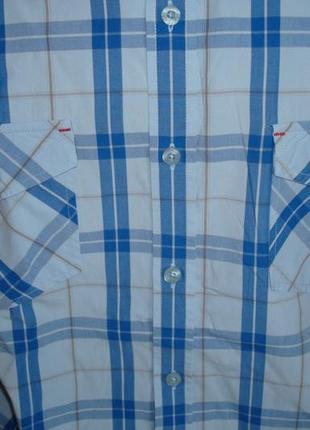 🍀🍀lee cooper оригинал летняя мужская рубашка короткий рукав м🍀🍀🍀5 фото