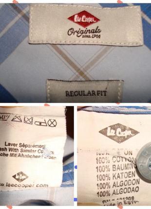 🍀🍀lee cooper оригинал летняя мужская рубашка короткий рукав м🍀🍀🍀8 фото