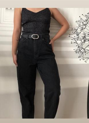 Чорные джинсы
