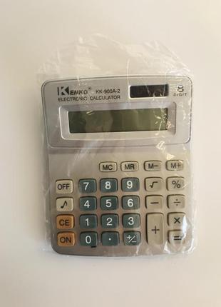 Калькулятор, новый калькулятор kenko.