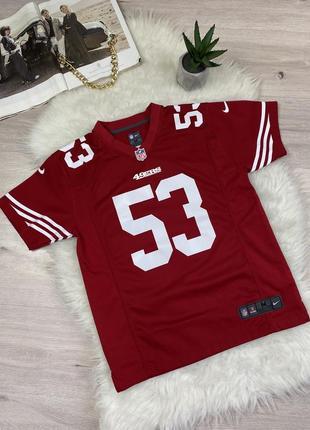 Футболка nike nfl 2017 san francisco 49ers #53  bowman  limited jersey