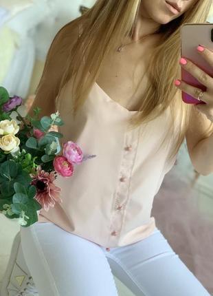 Женская блуза на шлейках
