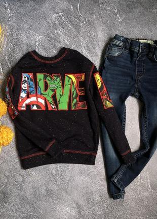 Свитшот джинсы