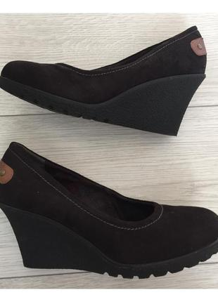 Туфли на платформе. женские туфли на танкетке.