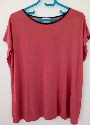 Стильная футболочка, блузочка с красивой спинкой, бренда la redoute, 48,50,52 р.