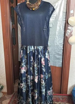 Платье,новое,батал, ,7xl,ц.180 гр