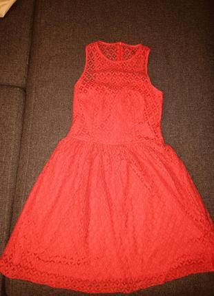 Кружевное платье беби дол