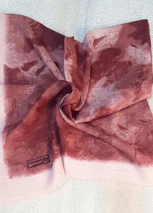 Платок женский на раннюю осень 100×100 см турция