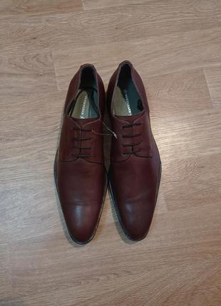 Overstate туфли новые кожаные