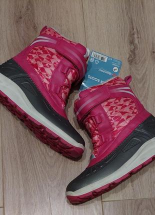 Сноубутсы/зимние ботинки для девочки р.34,германия pepperrts