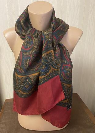 Шёлковый мужсклй шарф