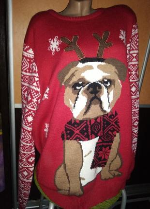 Шикарный свитер f&f xxxl