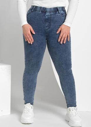 Джинсы варенки, джеггинсы варенки, джинсы скинни, джинсы с высокой посадкой р 46-56