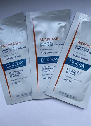 Стимулирующий шампунь для ослабленных, выпадающих волос ducray anaphase