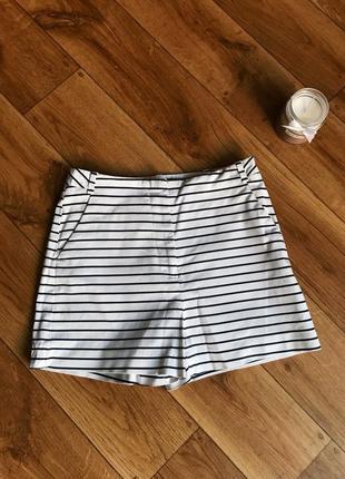 Класичні шорти в полоску, розмір s-m