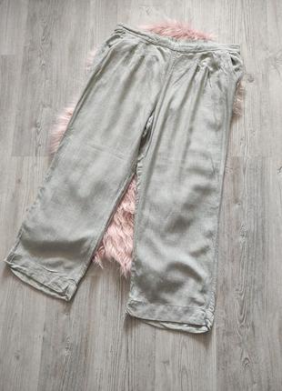 Льняные натуральные брюки штаны лен вискоза