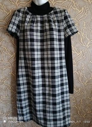 Очень хорошее платье bagen прямого силуэта осень/ зима /размер 40