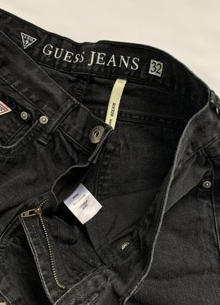 Чёрные прямые джинсы