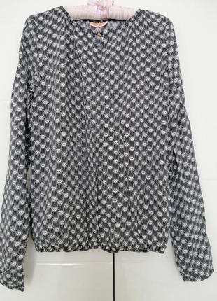 Блуза сорочка низ на ризинці 🥼🌸🥼