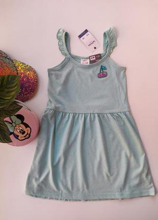 Платье красивого цвета фирмы lefties испания.