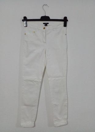 Білі джинси скіні