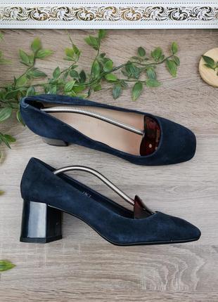 🌿40🌿европа🇪🇺 m&s. замша. классные фирменные туфли