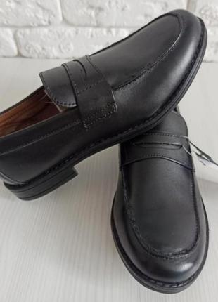 Туфли кожаные тех